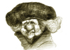 Cartoon: Rembrandt (small) by horate tagged painter
