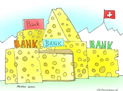 schweiz bank geheimniss geld by martin guhl politics cartoon toonpool. Black Bedroom Furniture Sets. Home Design Ideas