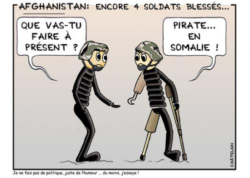 Cartoon: Pirate en somalie (medium) by chatelain tagged pirate,humour