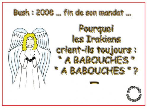 Cartoon: Reflexions d un Ange (medium) by chatelain tagged humour,ange,patarsort