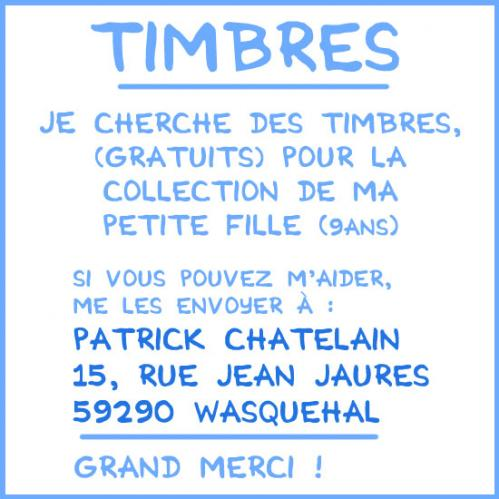 Cartoon: Timbres de collection ... (medium) by chatelain tagged timbres