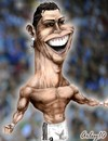 Cartoon: Cristiano Ronaldo (small) by Arley tagged cristiano,ronaldo,real,madrid,cr9,cr7,caricature,karikaturen,caricatura