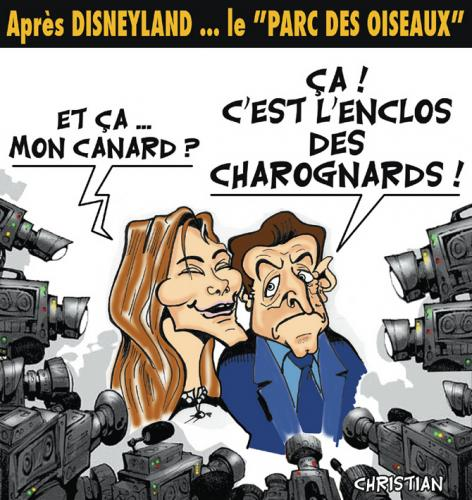 Cartoon: Charognards ! ... (medium) by CHRISTIAN tagged presse,rama,yade,