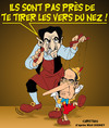 Cartoon: Affaire WOERTH (small) by CHRISTIAN tagged woerth,sarkozy
