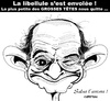 Cartoon: Mort du comique SIM ... (small) by CHRISTIAN tagged les,grosses,tetes