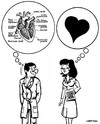 Cartoon: SAINT-VALENTIN (small) by CHRISTIAN tagged amour