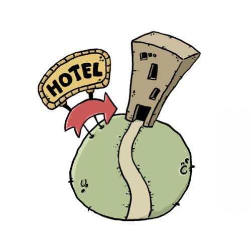hotel planet By guarajeno   Nature Cartoon   TOONPOOL
