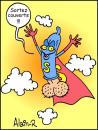 Cartoon: Merci Super Zizi... (small) by Alain-R tagged sida,aids