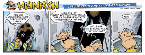 Cartoon: Heinrich der Löwe (medium) by Abonaut tagged comic,heinrich,löwe,valentinelli,tbm,papertown,abovalley,zeitung,zeitungsmarketing,lesermarketing,braunschweig,comicstrip