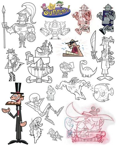 Fairly Odd Parents Nickelodeon By Gordon Hammond  Nature Cartoon