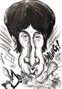 Cartoon: PETE TOWNSHEND -1960 .S (small) by Tim Leatherbarrow tagged who,pete,townshend,mod,guitar