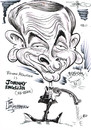Cartoon: ROWAN ATKINSON (small) by Tim Leatherbarrow tagged film,spy,comedy,rowan,atkinson