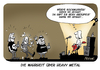 Cartoon: Die Wahrheit über Heavy Metal (small) by FEICKE tagged heavy,metal,hard,rock,wacken,open,air,wahrheiz,klischee,groupies,feicke