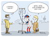 Cartoon: HSV Virus (small) by FEICKE tagged corona,virus,hsv,hamburg,sportverein,fussball,bundesliga,niederlage