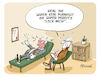 Cartoon: Kein Burnout (small) by FEICKE tagged burnout,frust,psychiater,therapie,beruf,stress,aggression
