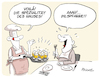 Cartoon: Pilzpfanne (small) by FEICKE tagged pils,pilz,bier,speise,restaurant,gourmet