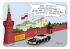 Cartoon: Russland raus (small) by FEICKE tagged russland,wm,weltmeisterschaft,finale,putin,kreml,fifa