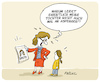 Cartoon: Vorbild Greta (small) by FEICKE tagged greta,friday,for,future,asperger,autismus,klima,wandel,protest,demonstration,generation,jugend