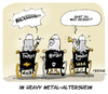Cartoon: Wacken (small) by FEICKE tagged hard,rock,heavy,metal,wacken,open,air,konzert,musik,rentner,altersheim,feicke,rente,harder,louder,faster,härter,schneller,lauter