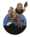 Cartoon: Toy Story Mashup (small) by jonmoss tagged toy,story,afghanistan,caricature