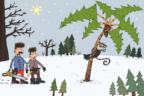 Tannenbaum Animation.New Year Tree By Belozerov Nature Cartoon Toonpool