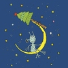 Cartoon: Happy New Year (small) by Sergei Belozerov tagged new,year,tree,alien,mond,star,holiday