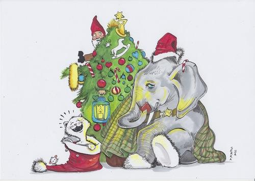 Tannenbaum Animation.Merry Christmas By Secretcircle Media Culture Cartoon Toonpool