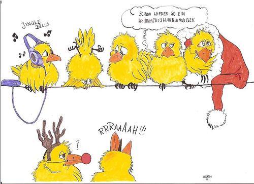 Crazy christmas By secretcircle | Media & Culture Cartoon | TOONPOOL