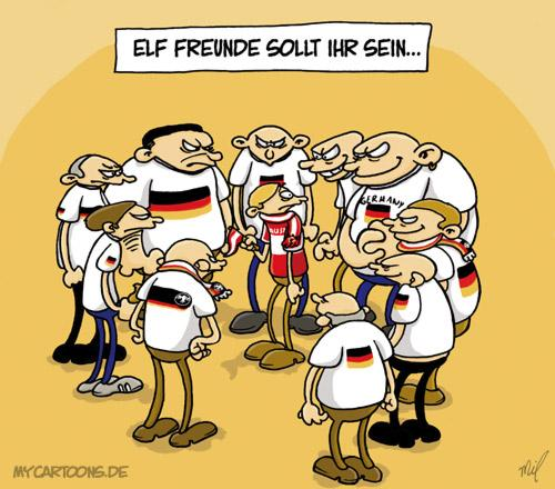 Em Freunde By Mil Sports Cartoon Toonpool