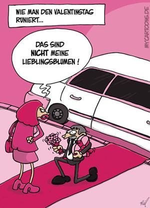 Valentins Desaster By Mil Love Cartoon Toonpool