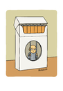 Cartoon: No Smoking 2 (small) by Vhrsti tagged smoking,cigarettes,prisoner