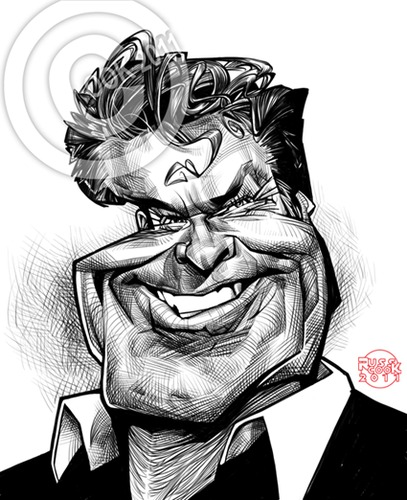 Cartoon: David Hasselhoff (medium) by Russ Cook tagged cintiq,wacom,karikatur,zeichnung,celebrity,show,talent,panel,judge,singer,hollywood,actor,michael,baywatch,kit,rider,knight,cartoon,illustration,photoshop,digital,drawing,caricature,cook,russ,hoff,the,hasselhoff,david