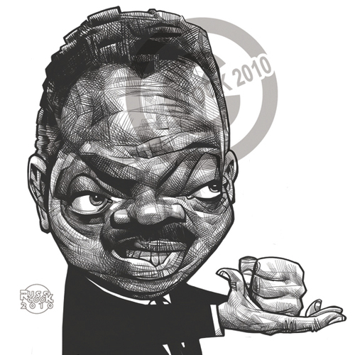 Cartoon: Jesse Jackson (medium) by Russ Cook tagged sketch,pencil,digital,cintiq,karikaturen,karikatur,zeichnung,wacom,portrait,caricature,cook,russ,american,america,political,politics,minister,baptist,senator,democrat,movement,rights,civil,jackson,jesse