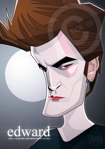 dans caricature robert_pattinson_662815