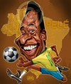 Cartoon: Pele (small) by Russ Cook tagged pele,football,soccer,brazil,south,american,caricature,drawing,zeichnung,karikatur,digital,vector,art,portrait,russ,cook