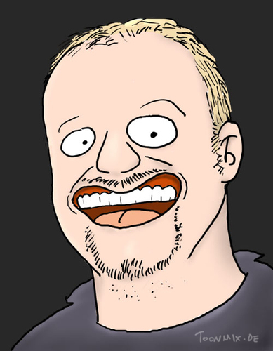Cartoon: Stefan Raab (medium) by Toonmix tagged entertainer,stefan,raab
