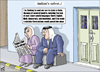 Cartoon: Clan-based violence in jordan 2 (small) by samir alramahi tagged jordan arab ramahi social clan based violence cartoon