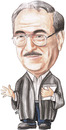 Cartoon: Dr. Mohamed Hammouri of jordan (small) by samir alramahi tagged jordan arab ramahi portrait cartoon