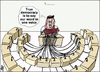 Cartoon: Jordan Elections system (small) by samir alramahi tagged jordan,elections,system,arab,ramahi,politics
