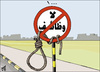 Cartoon: No Jops ! (small) by samir alramahi tagged jordan,arab,ramahi,cartoon,economy