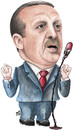 Cartoon: Tayyip Erdogan (small) by samir alramahi tagged tayyip,erdogan,ramahi,cartoon,politic,portrait