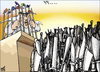 Cartoon: vote for me (small) by samir alramahi tagged jordan arab ramahi cartoon democracy