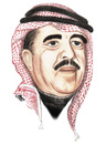 Cartoon: wasfi al tall of jordan 2 (small) by samir alramahi tagged jordan,portrait,wasfi,arab,ramahi