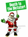 Cartoon: Green Santa Clause! (small) by Kianoush tagged iranian,green,movement