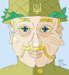 Cartoon: Ehrlich Augen (small) by Sergey Repiov tagged ukraine,crash,boeing