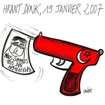 Cartoon: January 19th 2007 (medium) by Valere tagged hrant,dink