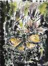 Cartoon: butterfly (small) by kolle tagged nature butterfly