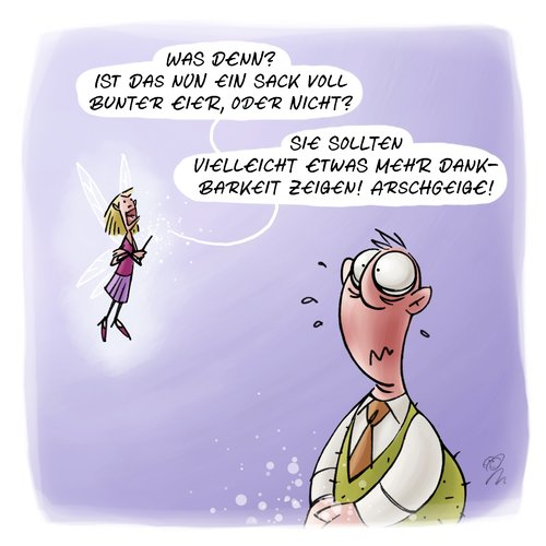 LACHHAFT Cartoon No. 264
