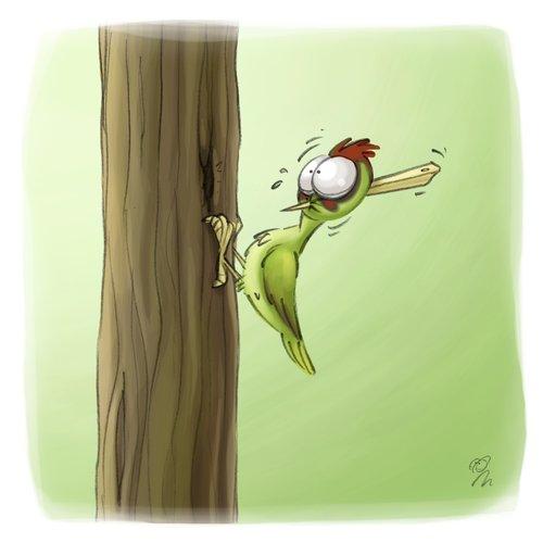 Lachhaft cartoon no 315 by lachhaft nature cartoon - Baum comic bilder ...