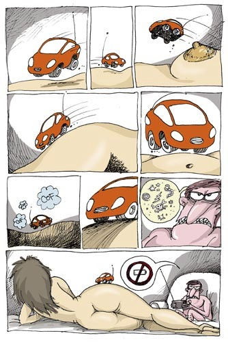 Cartoon: Juego (medium) by martirena tagged sexo